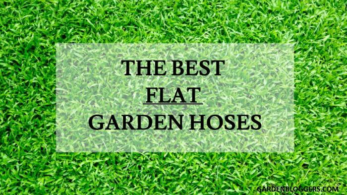 flat garden hoses